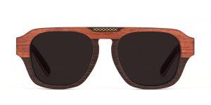 Aberkane front Wenge Bubenga Sunglasses Designer Eyewear