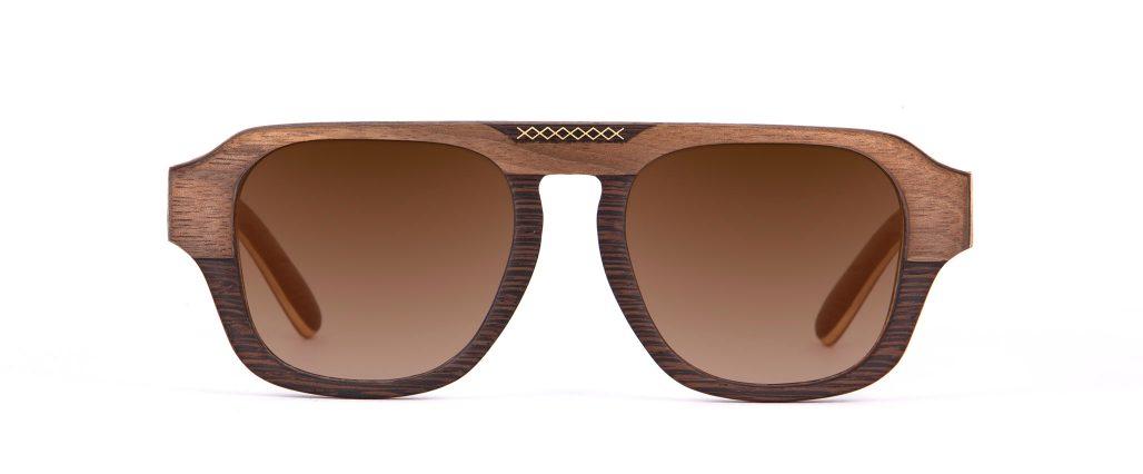 aberkane Wenge Walnut Sunglasses Designer Eyewear