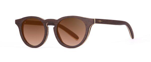 Charlie side Wenge Sunglasses Designer Eyewear
