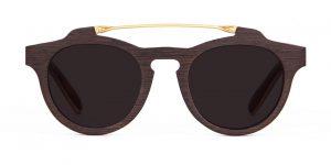 El Bey front Wenge Sunglasses Designer Eyewear Jewelry