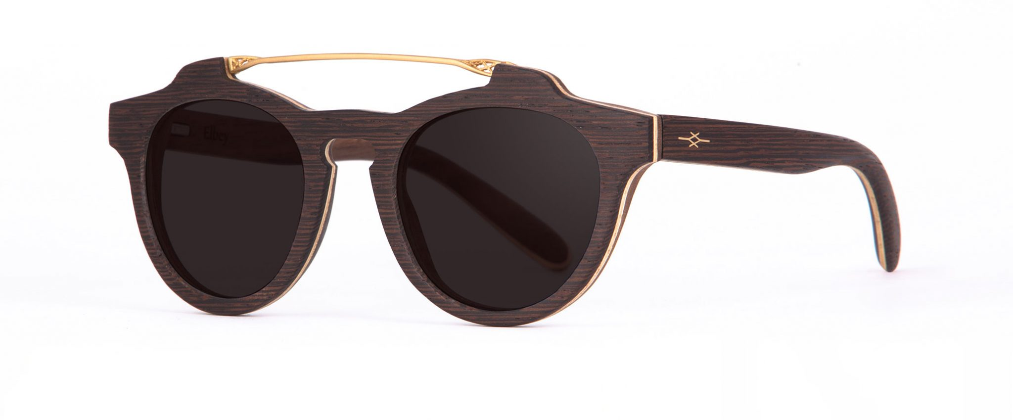El Bey side Wenge Sunglasses Designer Eyewear Jewelry