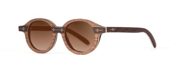 Gaya Round Designer Sunglasses VAKAY