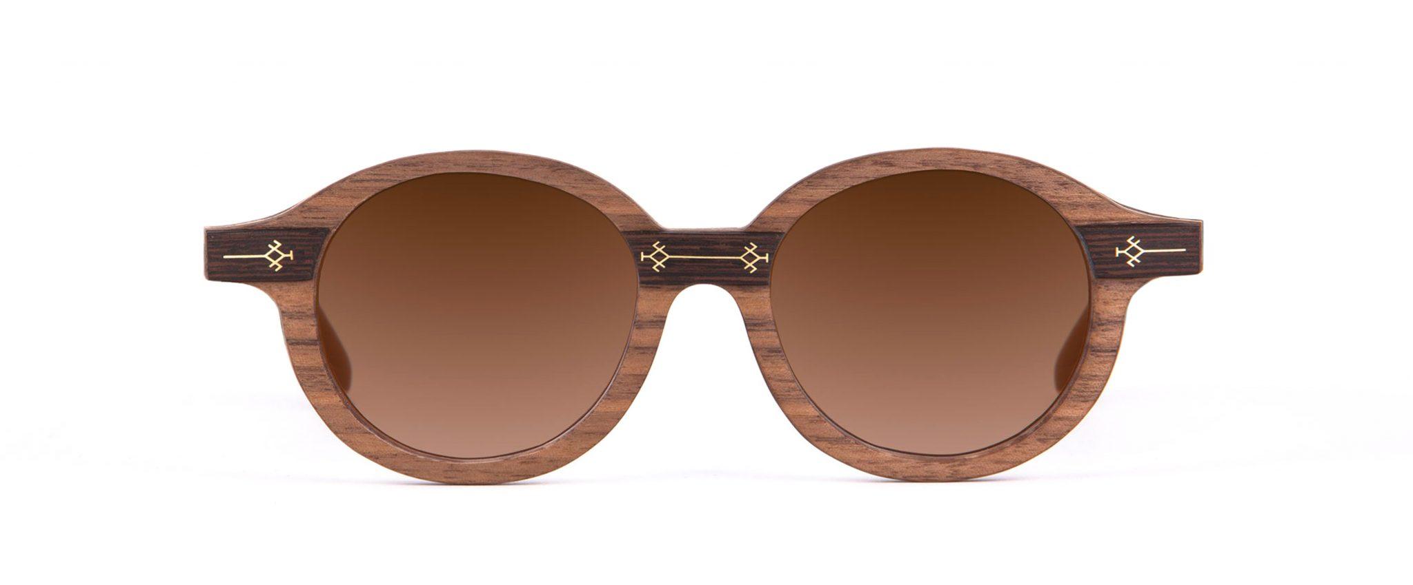 Gaya Round Designer Sunglasses