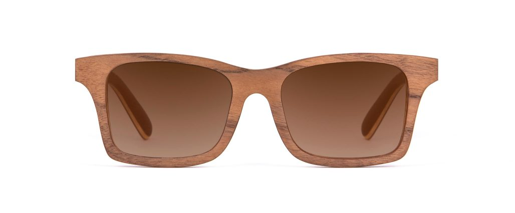 Mr Miles Walnut Wood Unique Iconic Designer Sunglasses