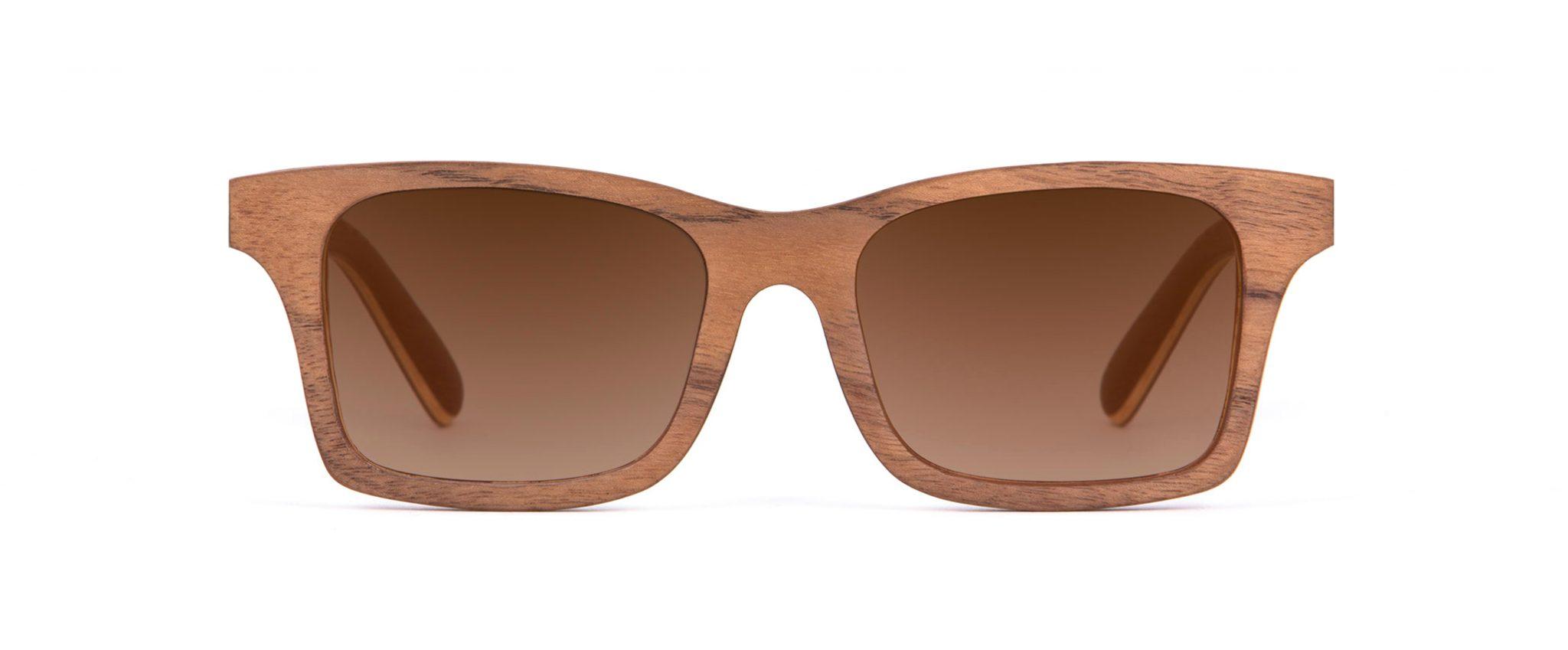 Mr Miles Walnut Wood Unique Iconic Designer Sunglasses