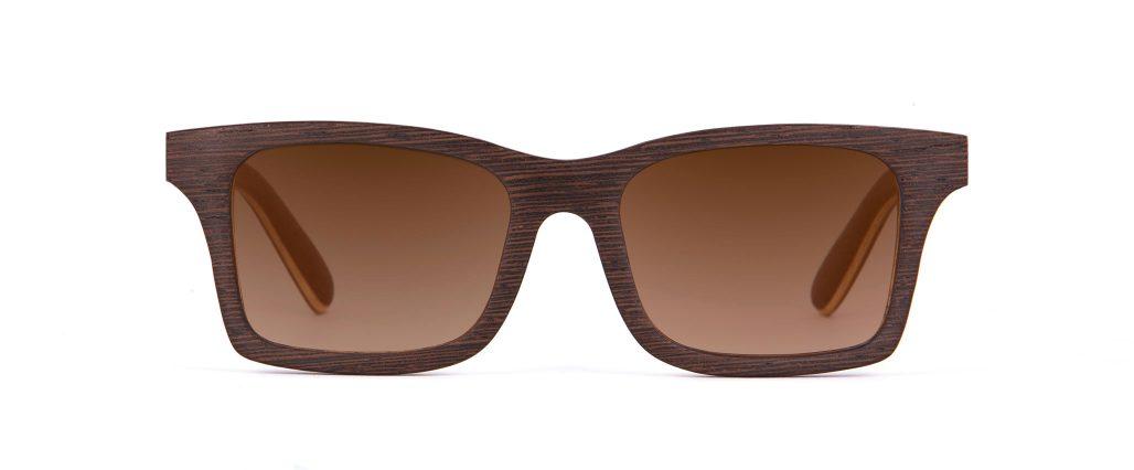 Mr Miles Wenge Wood Unique Iconic Designer Sunglasses