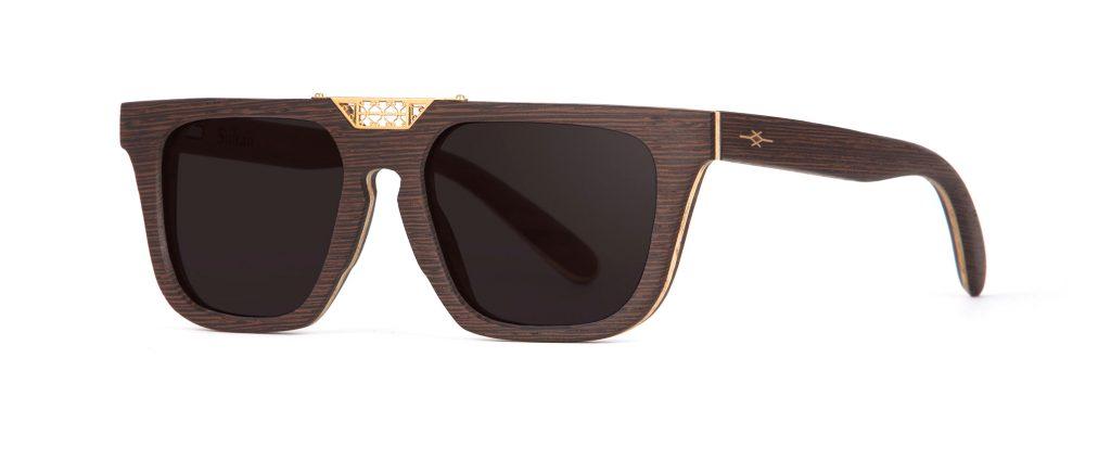 Sultan Wood Unique Designer Sunglasses
