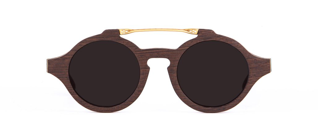 Wood Wenge Sunglasses Designer Eyewear
