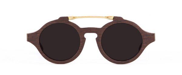Wood Wenge Sunglasses Designer Eyewear