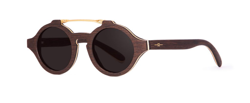 Zina Wood Sunglasses Designer Eyewear