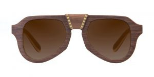 Aganjù Walnut Vakay sunglasses
