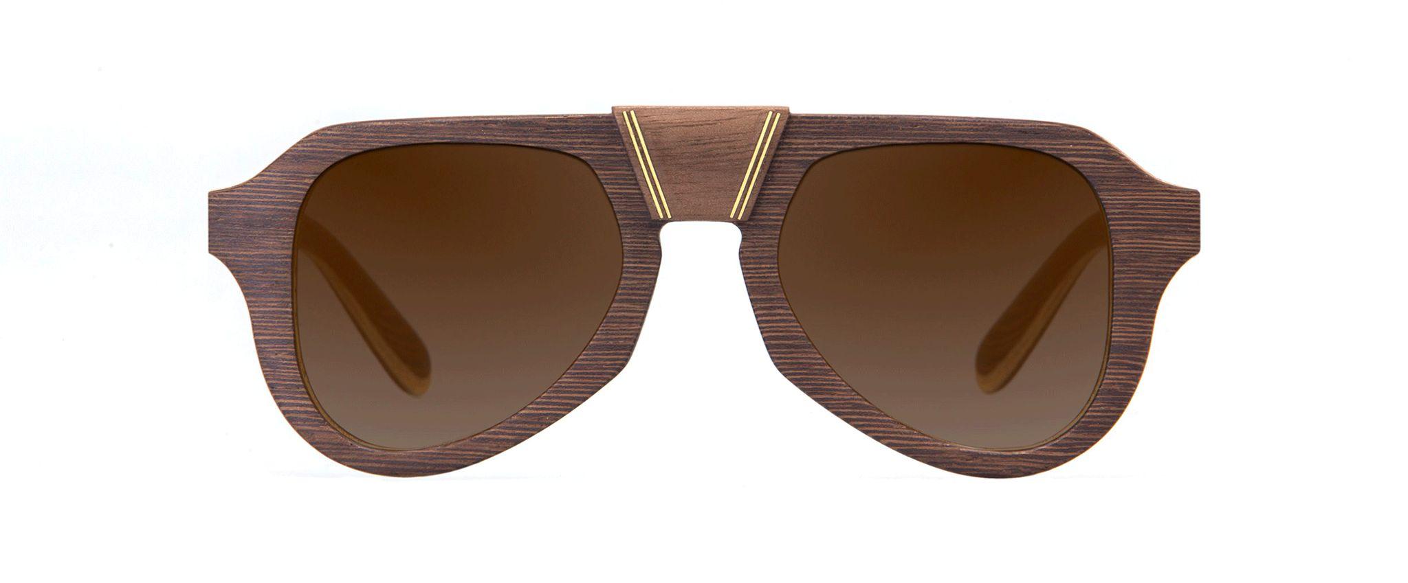 Aganjù Walnut Vakay sunglasses