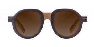 Mamba Walnut Vakay designer sunglasses