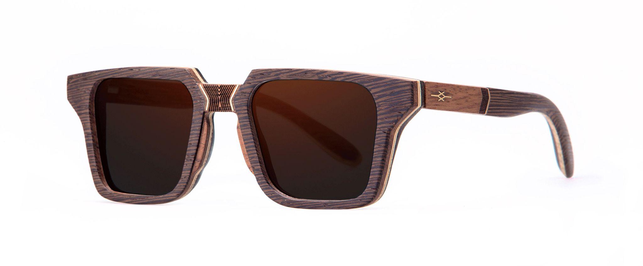 Totem Vakay designer sunglasses Wenge