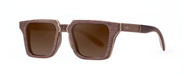 Totem Vakay designer sunglasses Walnut
