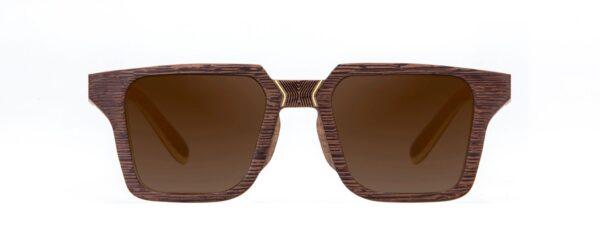 Totem Walnut Vakay designer sunglasses