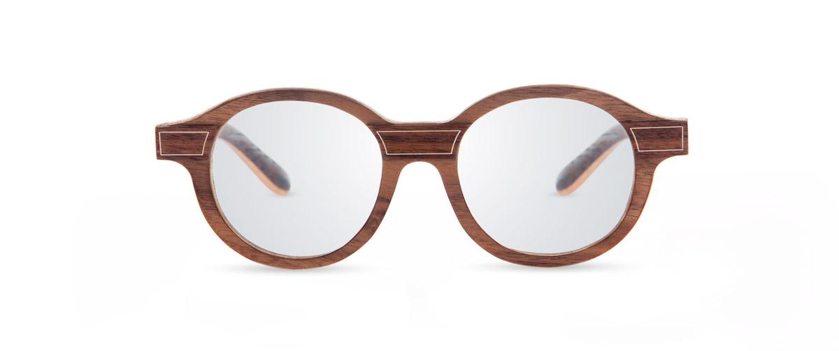 La Walnut VAKAY handmade wooden glasses