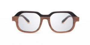 Fa walnut VAKAY handmade glasses