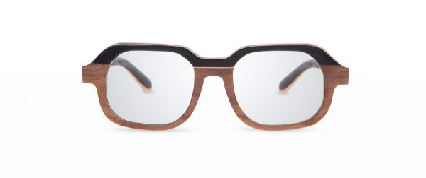 Fa walnut VAKAY handmade glasses