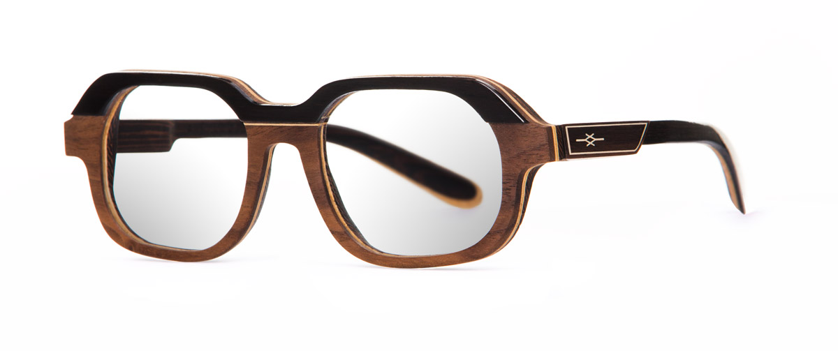 Fa sharp VAKAY wood glasses