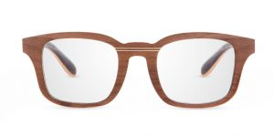 Ré Walnut VAKAY handmade glasses