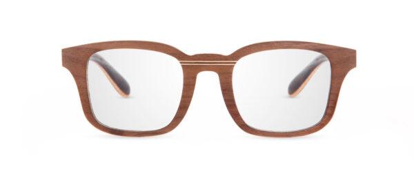 Ré Walnut VAKAY handmade glasses