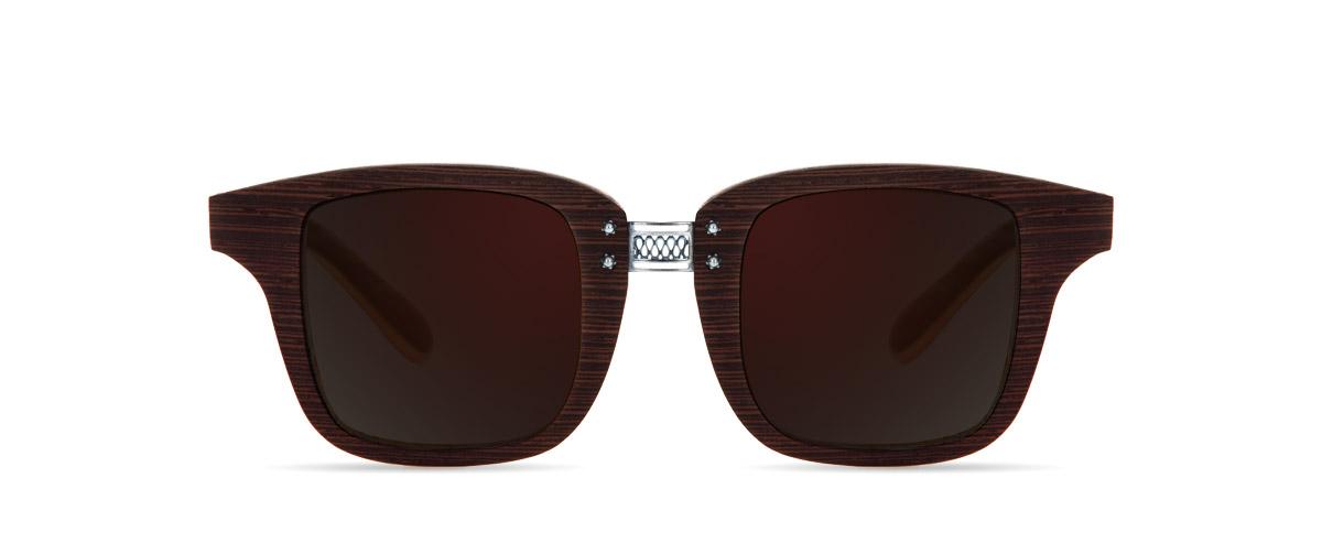 Eros Wenge VAKAY handmade wooden sunglasses