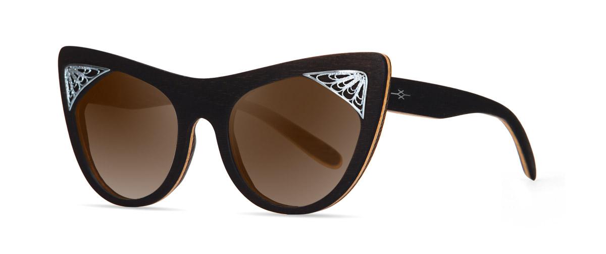 Hestia handmade vakay wooden sunglasses
