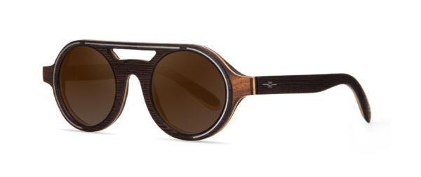 Atlas Wenge VAKAY handmade sunglasses
