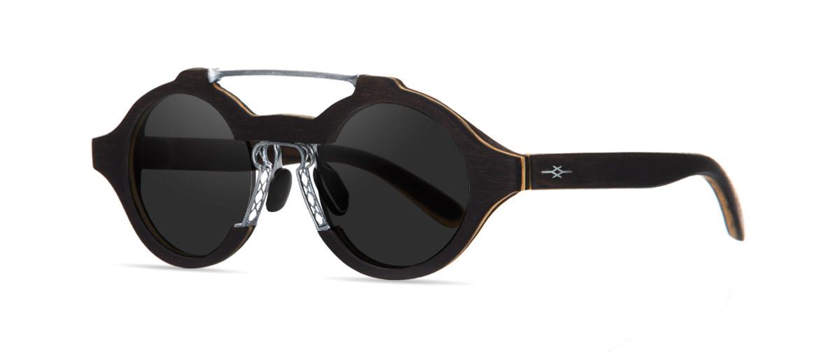 Arés VAKAY handmade wooden sunglasses