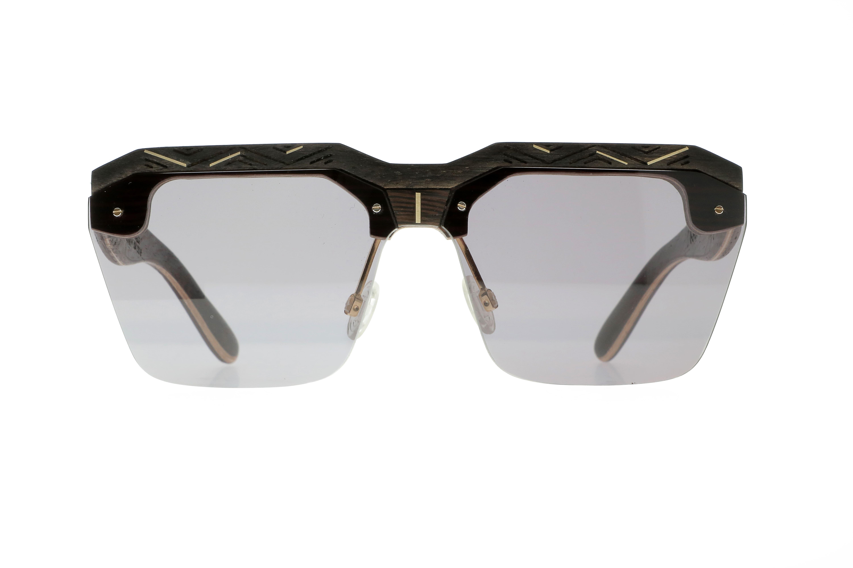 Mandela VAKAY handmade wooden eyewear
