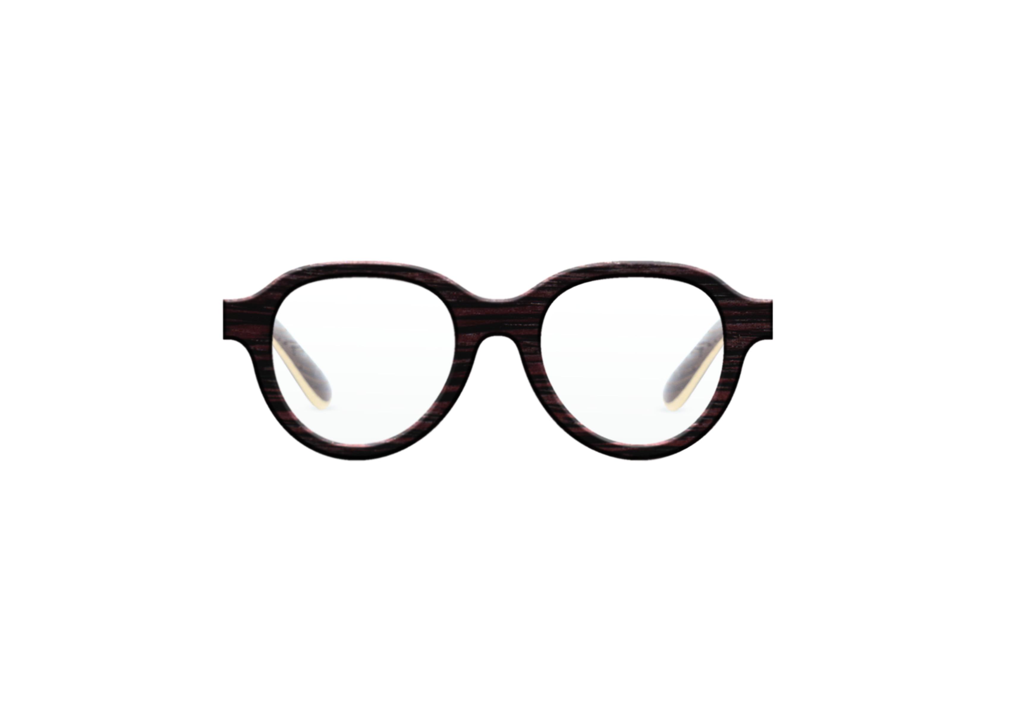 Carmin VAKAY handmade wooden eyewear