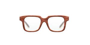 Crimson VAKAY handmade wooden eyewear