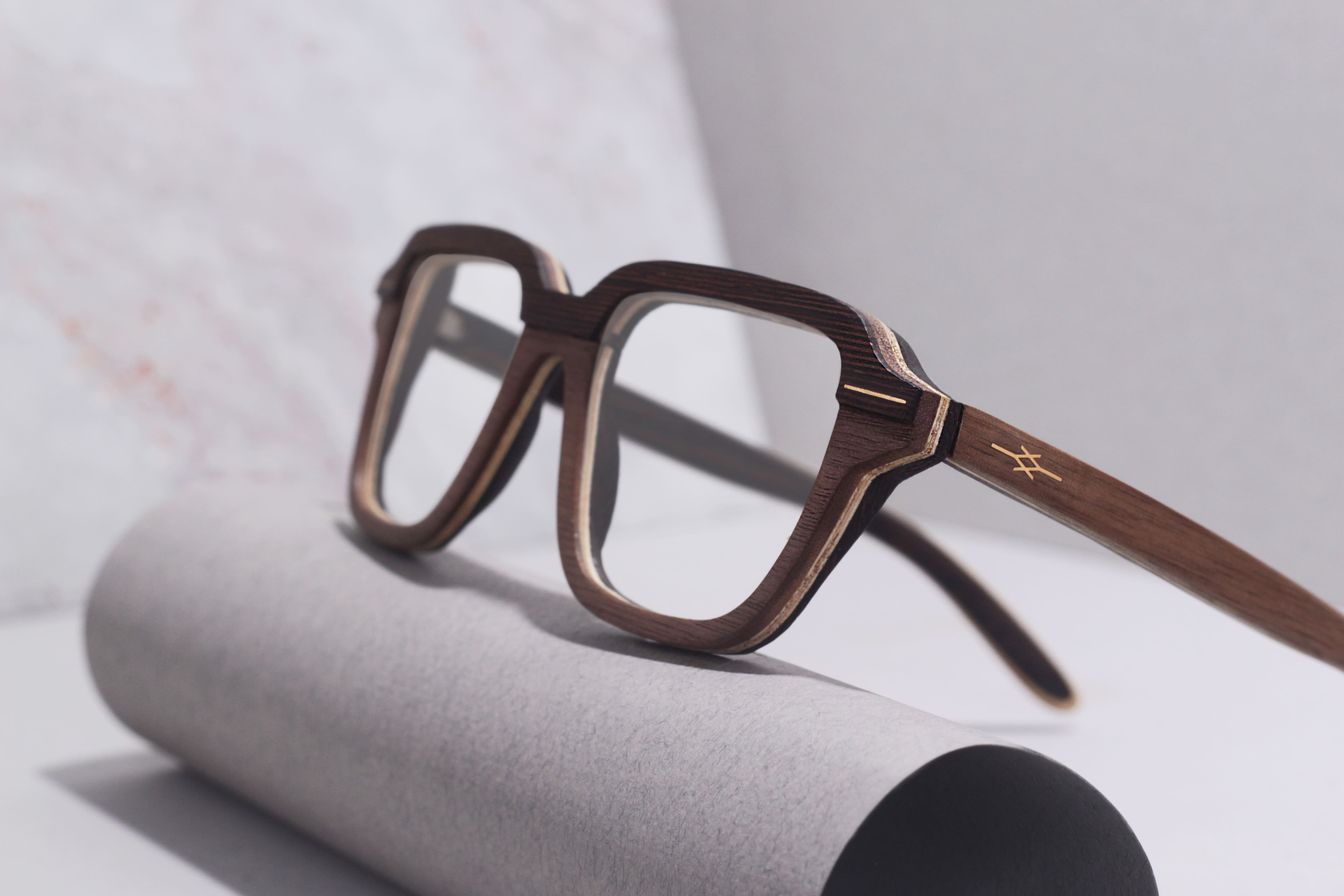 Keegan VAKAY handmade wooden eyewear